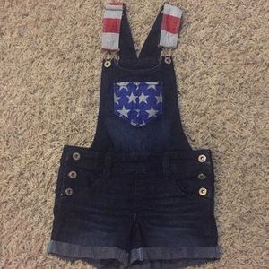 Other - Girls overall shorts!